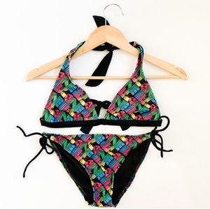 O'Neill surfer 🏄♀️ 2 piece triangle logo bikini